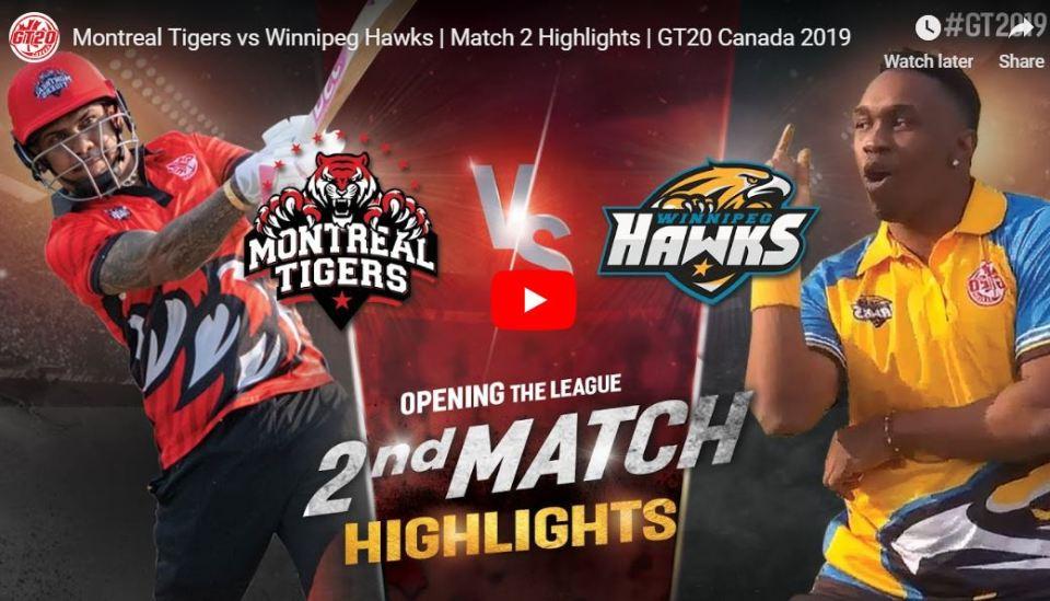 GT20 2nd match highlights