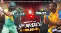 GT20 5th match highlights