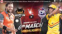GT20 6th match highlights