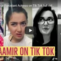Hania Aamir Pakistani Actress on Tik Tok Videos Compilation