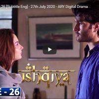 Ishqiya Episode 26 | Hania Aamir Feroze Khan Ramsha Khan | ARY Digital Drama