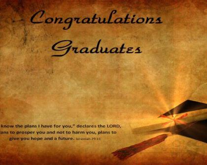 HD Congratulations Graduates Video Loop