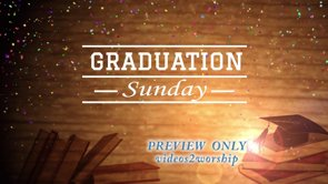 Graduation Sunday Background Loop