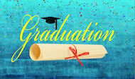 Graduation Title Background Loop