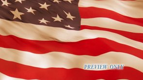 Waving American Flag Motion Background