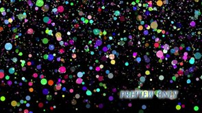 Falling Confetti: New Year Loop