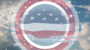American Patriotism Motion Worship