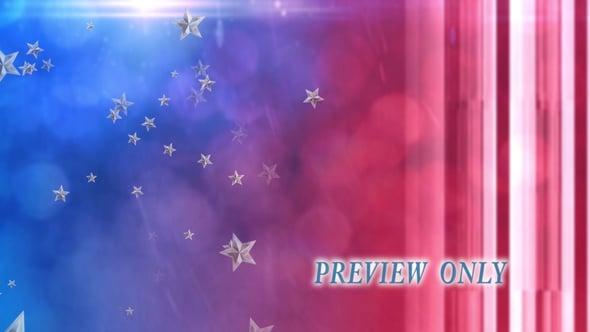 Patriotic Motion: American Stars