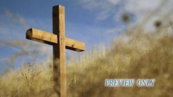 Wooden Cross Easter Motion Loop