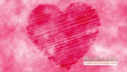 Pink Heart Church Media Background