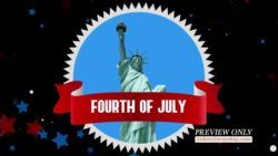 Fourth Of July Motion Loop