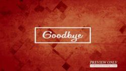 Grunge Shapes Goodbye Media