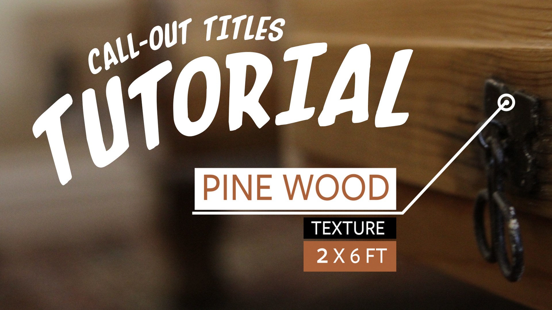 CallOut Titles After Effects Tutorial And Free Template - Purchase after effects templates