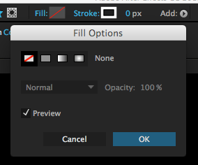 after effects fill options