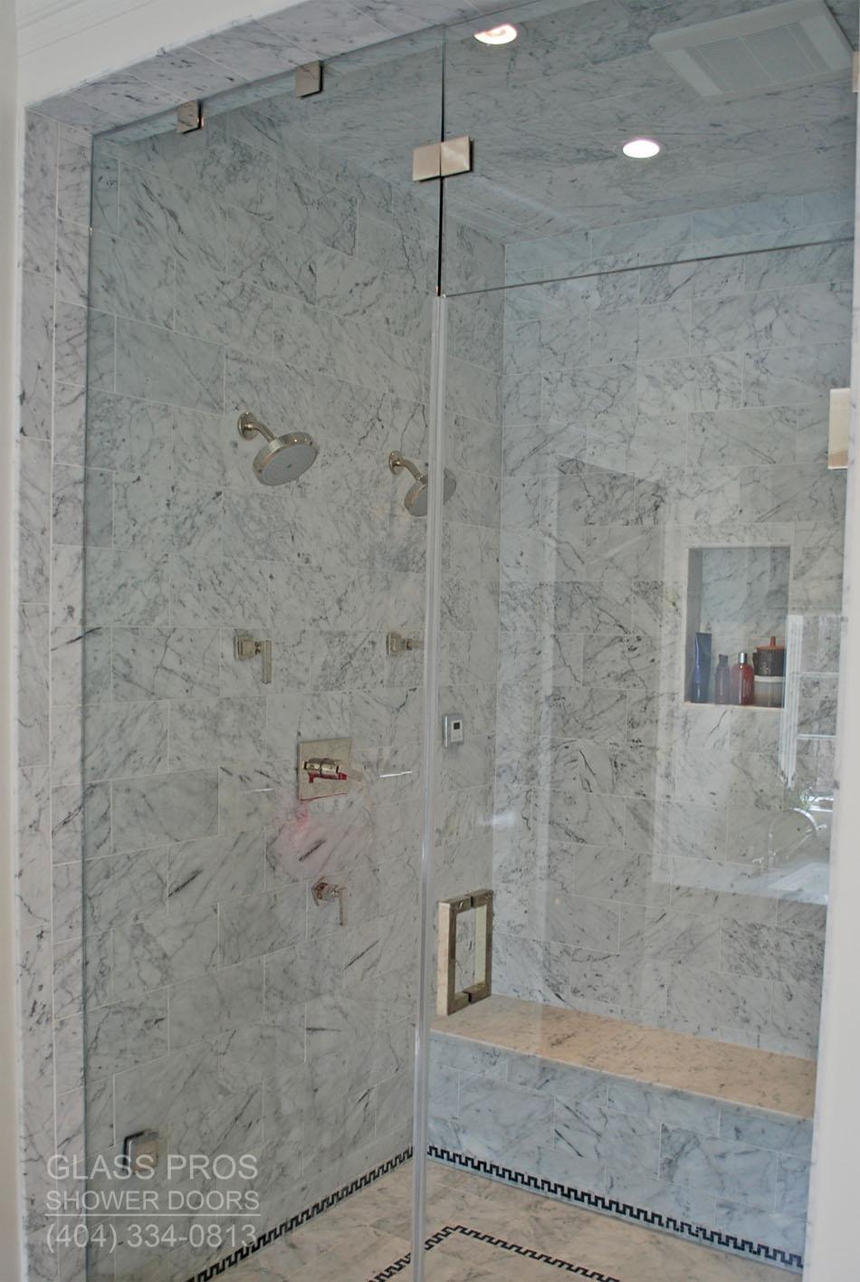 Glass Pros of Cumming Frameless and SemiFramed Shower Doors