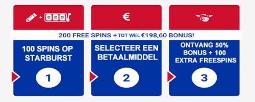 200 gratis spins polder casino videoslot spelen