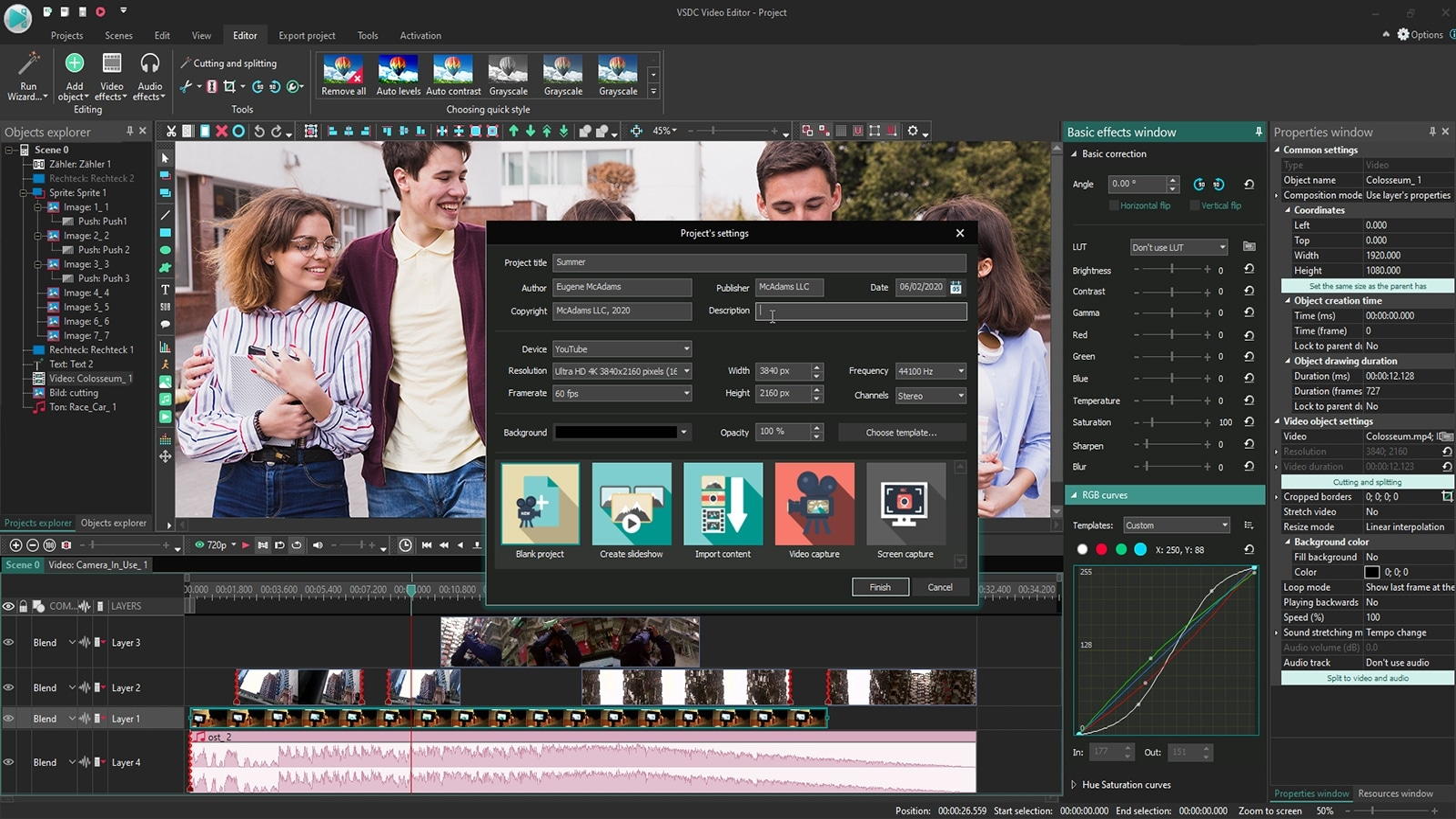 vsdc-free-video-editor-düzenleme