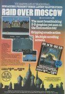 Werbung für Raid over Moscow. (Bild: C64 Wiki)