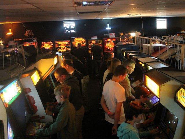 Einblicke in den Arcade-Bereich des FAMS. (Bild: Senad Palic)