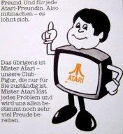 Mister Atari war das Maskottchen des Magazins. (Bild: Atari)