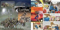 Die Comics zu Gothic und Lufia sollten das Spielerlebnis erweitern. (Bild: Christian Kuhrmann)