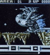 Das Shoot em up Katakis für den C64. (Bild: Rainbow Arts)