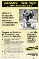 """Werbung von CompuCamp: """"Ferien total... wir machen sie!"""" (Bild: WEKA)"""