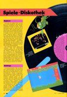 Die Spiele-Diskothek in der HC Mein Home-Computer. (Bild: Vogel-Verlag)