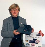 Winrich Derlien 1994 mit dem Philips CD-i System. (Bild: Winrich Derlien)