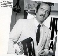 Klaus Ollmann war Managing Director der Atari Vertriebsgesellschaft. (Bild: Atari)