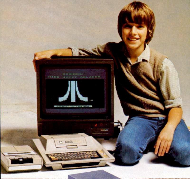 Der Atari 400: direkter Konkurrent des Commodore 64. (Bild: Atari)