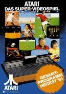 Gesamtprogramm im Herbst 1981: Atari: Das Super-Videospiel. (Bild: Atari)