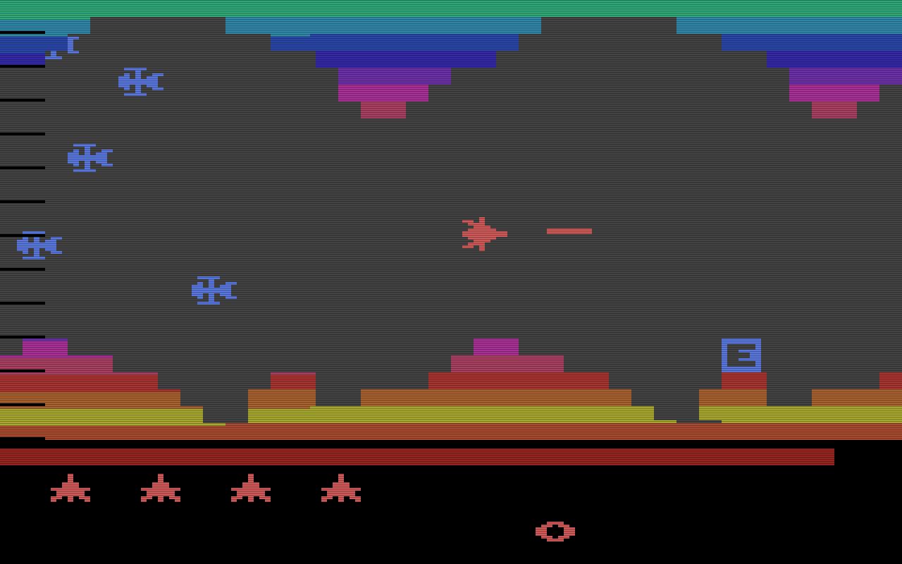 Vanguard, Atari 2600. (Bild: Atari)