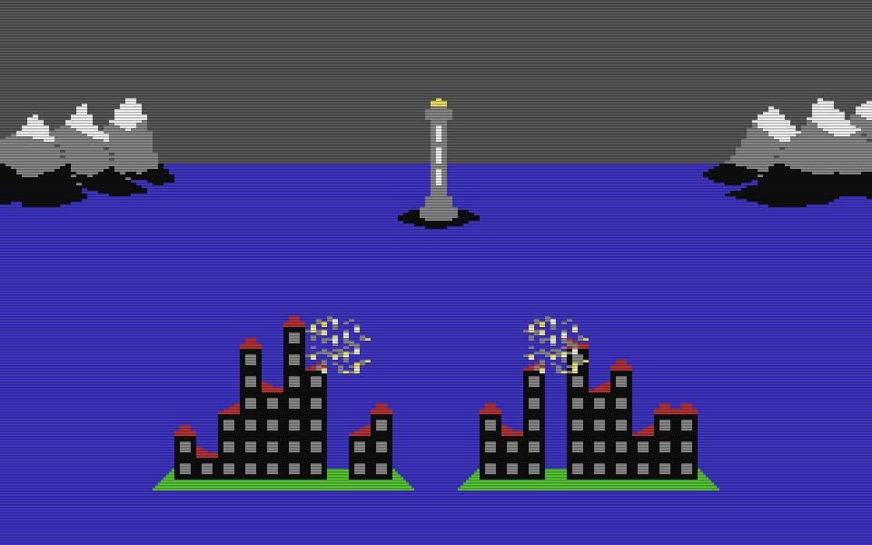 Die Commodore 64 Fassung wurde ebenfalls 1984 veröffentlicht. (Bild: Mirrorsoft)