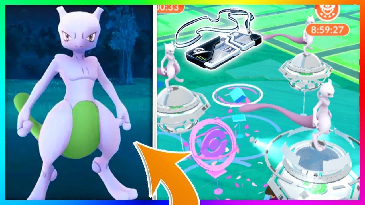 FINALLY GOT AN EX RAID PASS IN POKEMON GO! HOW TO GET MEWTWO RAID PASS - Pokemon Go Videos