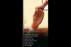 Happy Propose Day Status 8feb status Love Instagram Status