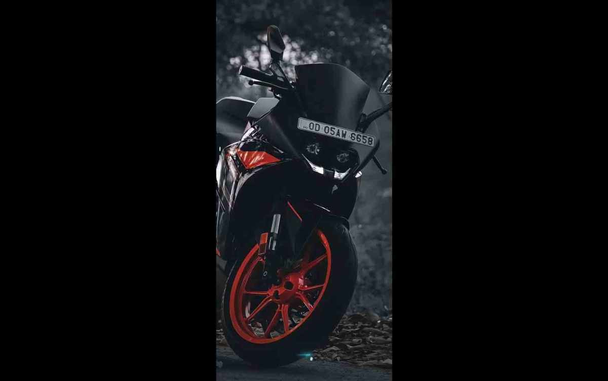 KTM RC 200 Full Screen Status Full