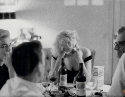 Jean León y Marylin Monroe