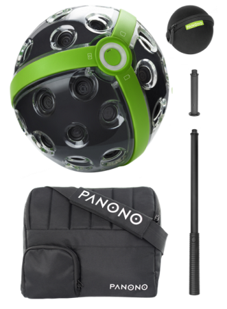 Panono with accesories