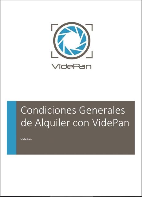 Condiciones generales de alquiler con VidePan