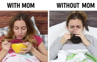 It's Always Better To Be With Mom