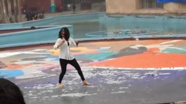 Delhi University Girl Dances On Gandi Baat