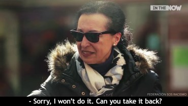 Hidden Camera Captures How People React To Islamophobia