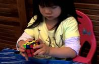 2 Year Old Youngest Rubik Cube Solver