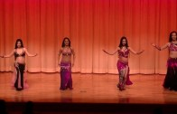 Belly Dancers Perform At Japan Koriyama Event