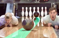 Most Amazing Bowling Trick Shots