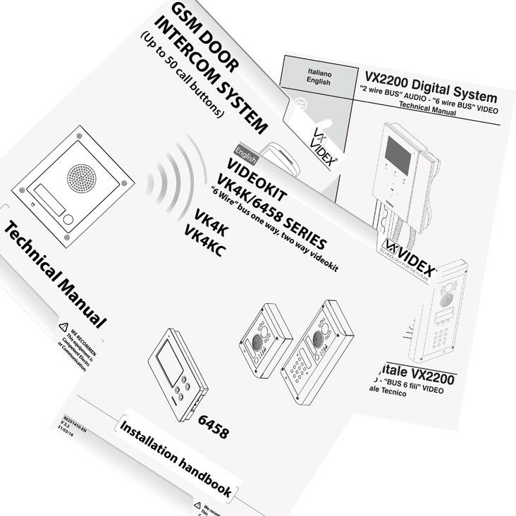 Videx Wiring Diagram