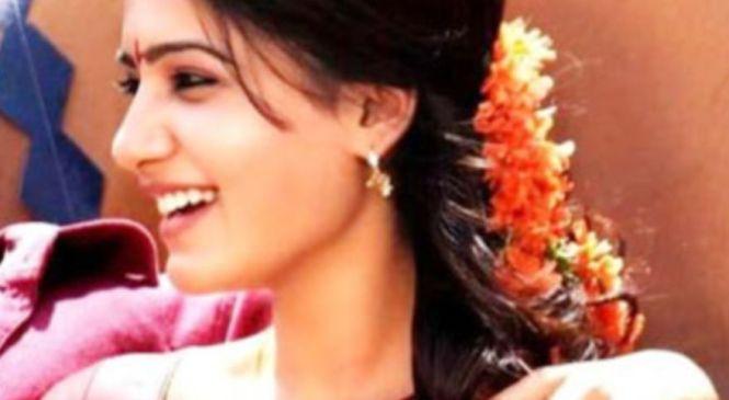 சமந்தா, கொரோனா நோயாளிக்கு கொடுத்த முத்தம் – ரசிகர்கள் அதிர்ச்சி