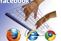 facebook keyboard shortcuts browsers