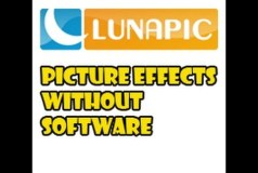 How to Make Picture Effects without Software